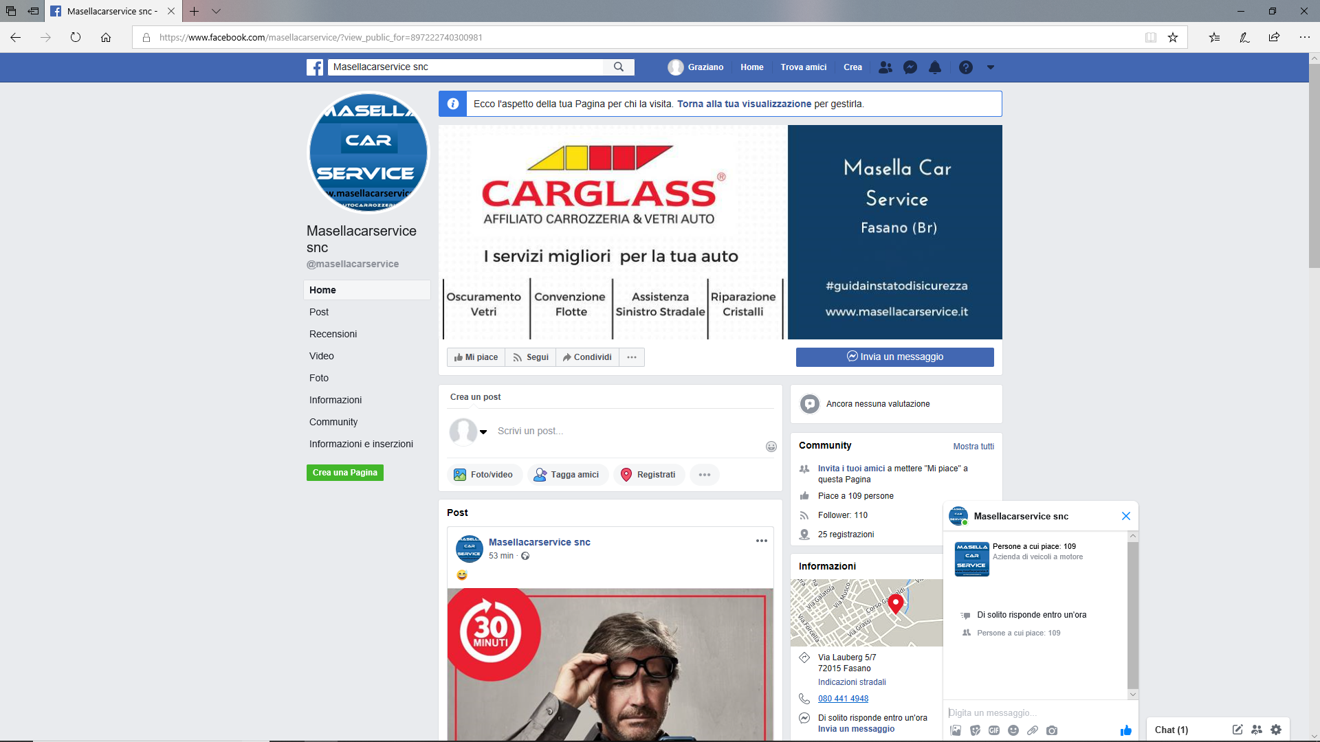 Masella-car-service-fb